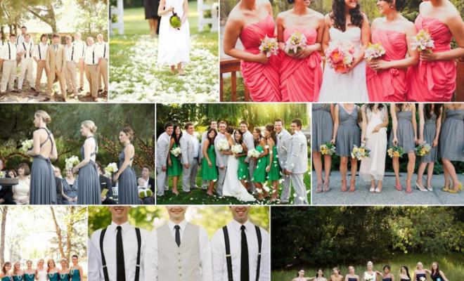Idei pentru tematica nuntii