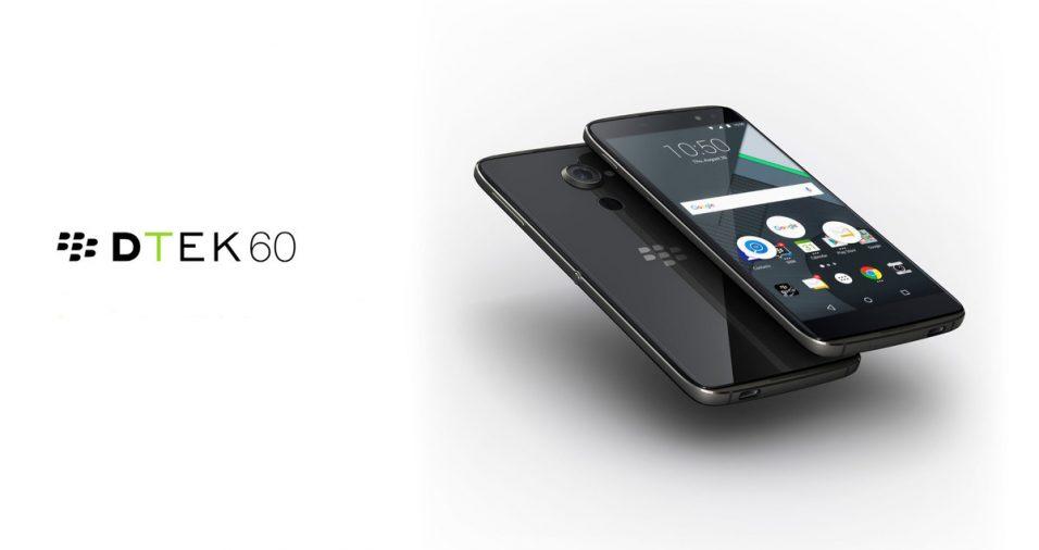 BlackBerry DTEK60 – un smartphone excelent cu un nume ciudat