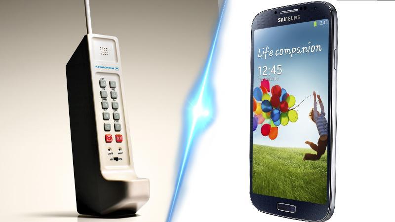 Comparatie intre telefoanele vechi si cele noi